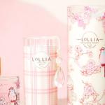 【LoLLIA】繊細な手書きデザインで彩られたキャンドル
