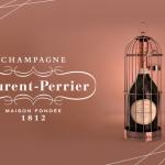 シャンパンギフト。イギリス皇太子様認証のローラン・ペリエ