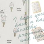 ベビーちゃん懐妊祝いにかわいい母子手帳カバー